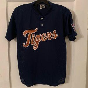 Vintage Tigers Script Away Little League Jersey YL
